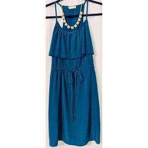 Dresses & Skirts - Blue silky dress